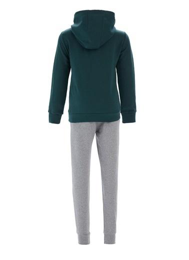 Defacto –Fit Erkek Çocuk Çıkarılabilen Kapüşonlu Jean Gömlek Yeşil